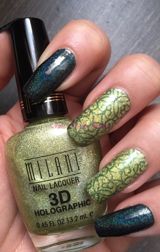 Colors by Llarowe Oh Christmas Tree and Milani Hi-Tech