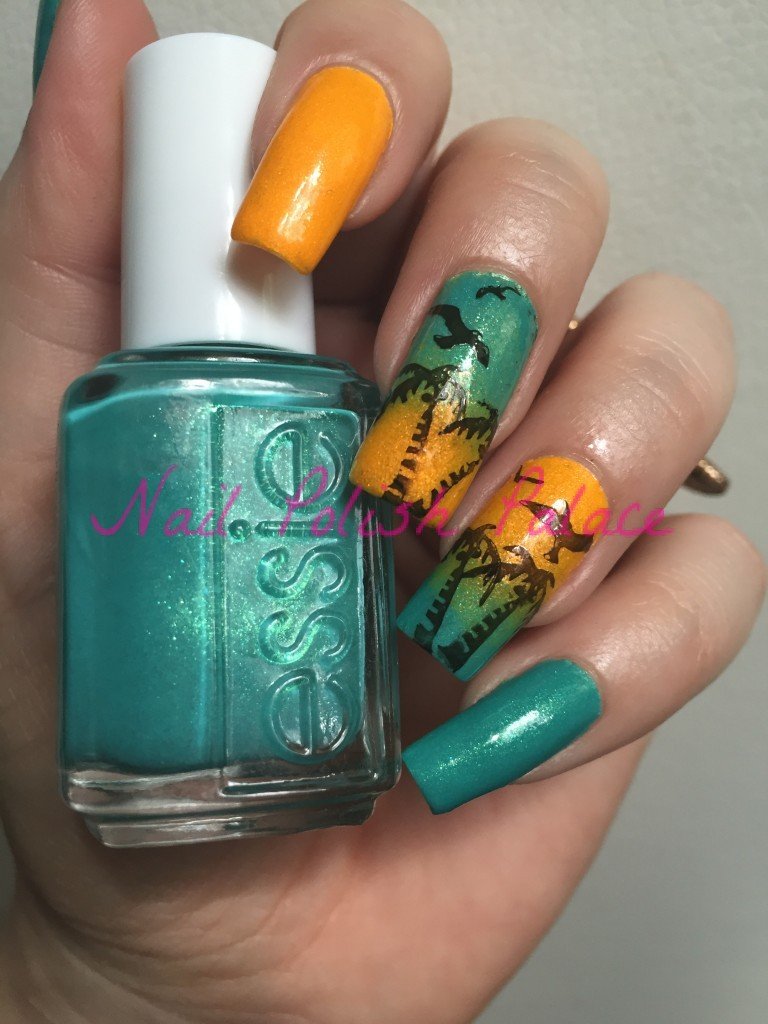 Essie viva antigua & orly summer sunset13