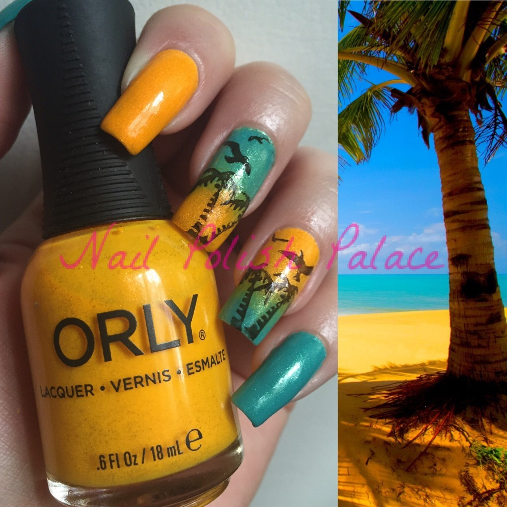 Essie viva antigua & orly summer sunset1